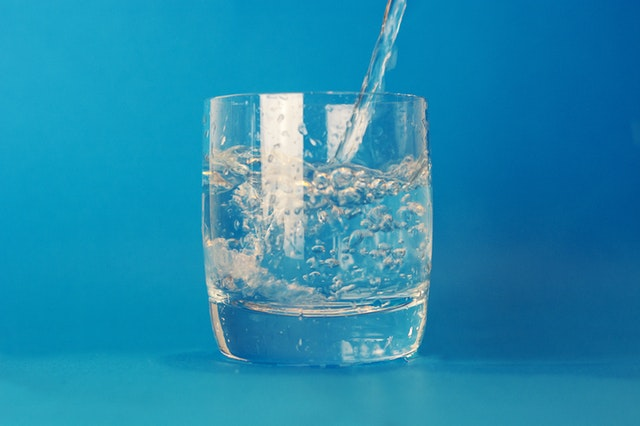 Drinking Water to reduce stress